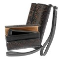 Krusell 95164 Leather Case Divine  Large (Black) with Finger Strap in kathmandu nepal